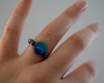 90s Dolphin Ring