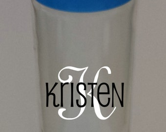 Personalized Glass Bottle