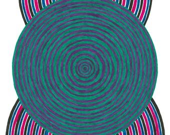 Funky Bullseye