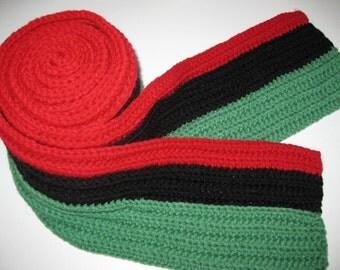 Long Crochet Scarf