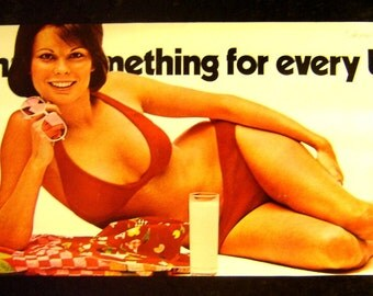 Vintage 1974~MILK Has Something For EVERY BODY~Dairy Ad Poster