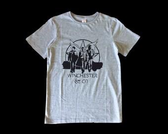 Supernatural T shirt, Fandom, Winchester, Sam and Dean, Castiel