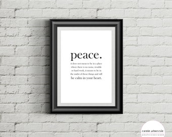 Poster • Peace