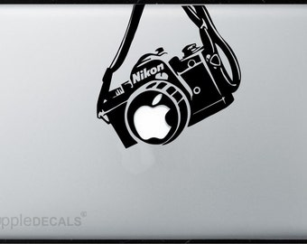 Nikon Camera All MacBooks  Vinyl Stickers, Skin, Decal