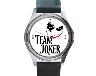 Team Joker  Round Metal Watch