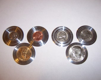 "Coin Ring Center Punch Spacers for 1.5"" O.D punch kits. FREE Combined Shipping!"