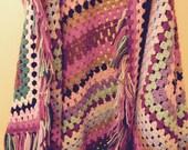 Handmade Rainbow Qulit ~