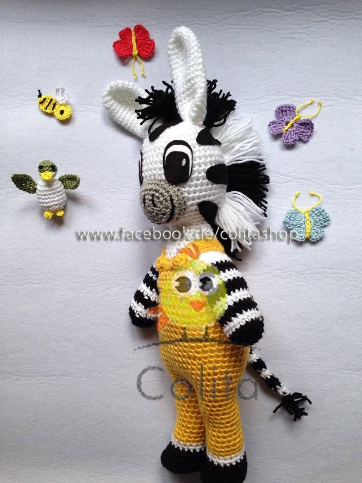 Crochet Amigurumi Zebra Pattern : Zeo Zebra gehakelt crochet Amigurumi deutsch german PATTERN