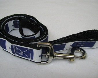 RESERVED For Mark - Doctor Who Inspired Tardis Phone Box Dog Leash and Collar
