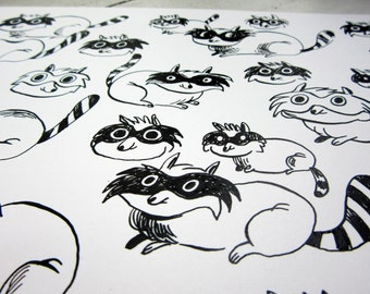 Original drawing - pups
