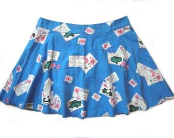 Retro mini skirt