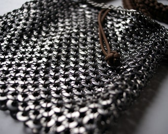 Round Scale Chainmaille Purse