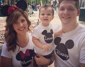 Mickey/Minnie inspired Toddler Shirt