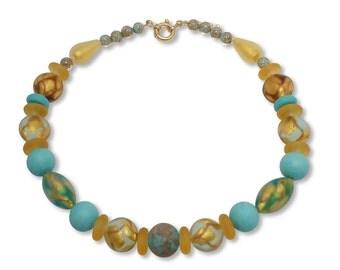 Murano Glass Necklace - Julietta