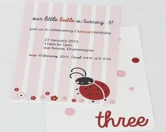 lady beetle invitation