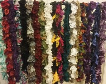 Ruffle Scarves for a cause