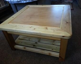 Reclaimed yellowpine Coffee Table