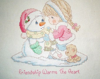 Precious Moments Counted Cross Stitch