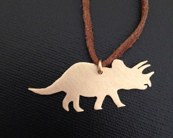 Triceratops Pendant