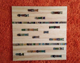 Wooden wall hanging Color of Nature