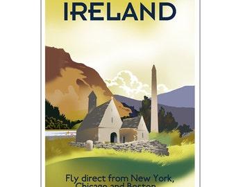 Ireland Poster- Glendalough