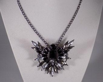 Statement Art Deco Pendant necklace