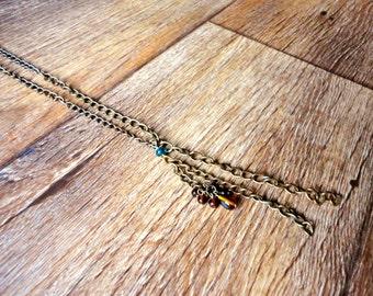Mixed Metals Repurposed Necklace
