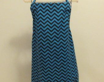 Large Adult chevron pattern Apron    (# 437 or #438  )