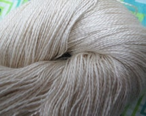 LACE Silk Sea Cell Merino Gossamer Undyed Yarn, Ivory Lace Undyed Silk Yarn Ecru Yarn Base,Gossamer Silk Undyed Yarn