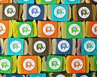 Shower Soap Favor Assortment, From My Shower To Yours Elephant Design