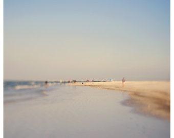Beach Photograph - Nature Photograph - Original Fine Art - Water Photography - Florida Art - Purple Haze 1 - Landscape - Seashore - Seaside