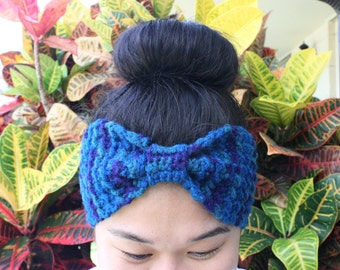 Bow-Tie Head Wrap / Ear Warmer