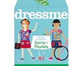 Dressme Pattern Set - Sporty & Playdate Dresses - Sizes 6+–14