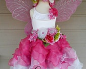custom mother/daughter fairy costume sets