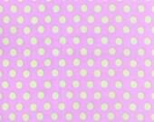 SPOT in Hydrangea, 1/2 yd Polka Dot, PINK, Mint Green,GP70  Kaffe Fassett Fabric Classic Collection, Westminster Fiber Cotton Quilt Fabric