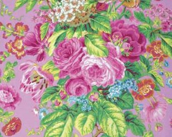 FLORAL  DELIGHT in LAVENDER by PHillip Jacobs  1/2 yard 2015  Collection Westminster Fabric  Cotton, Quilt Craft and Apparrell fabrics