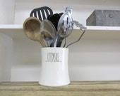 Dotted Kitchen Utensil Holder