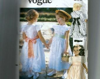 Little Vogue Toddlers'/Child Dress Pattern 7734