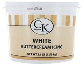 CK Products White Buttercream 3.5 lb tup. Exp 4/2016
