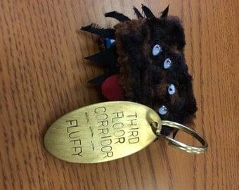 Hogwarts Third Floor Corridor Keychain