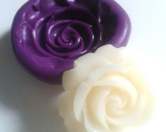 Rose Silicone Mold / Mould  30 mm  - Cake Decorating, Cupcakes, Toppers, Fondant, Fimo, Polymer Clay