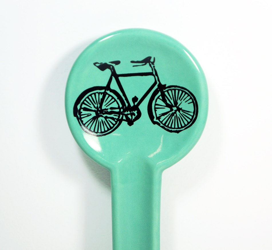 spoon rest dusty road bike. Made to Order / Pick Your Colour / Pick Your Print