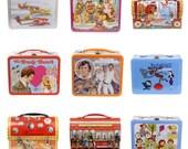 Retro Lunchbox Magnet - Brady Bunch, Buck Rogers, Bozo, Rocky Bullwinkle