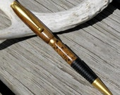 Comfort Grip Handmade Ebony and Corian Pen