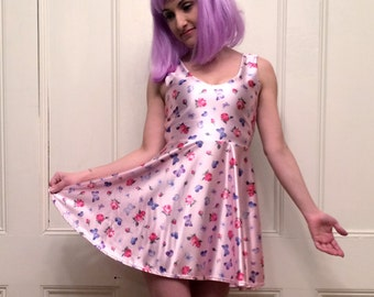 It's All Butterflies and Roses Tank Top Skater Dress  MADE TO ORDER