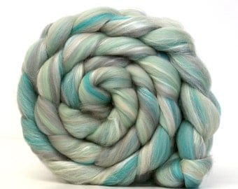 Frozen -  Luxury Merino Wool and Silk Blend Combed Top 50g 100g
