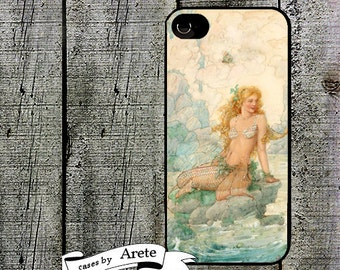 iphone 6 case Mermaid Sea Fairy  Phone Case iphone 5 iphone 5s iphone 5c iphone 4 iphone 4s samsung galaxy s3 s4 Mother's Day