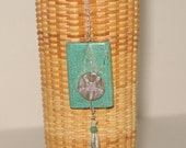 Your Choice - Turquoise & Sterling Beach Theme Necklace