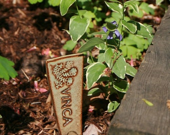 Specialty Plant Markers Set of 3 or 5 - Custom Made Garden Stakes - Vegetable - Herbs - Gardening Gift