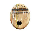 Sun Zula - Brown - Thumb Piano - The Magical Kalimba